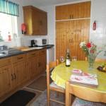 Gwel Tregew kitchen