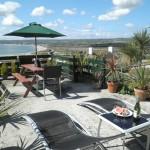 Tregew Vean sun terrace